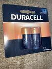 Duracell DL123AB2BPK Ultra High-Power Lithium Battery 2 PACK 123 3 volt Ario