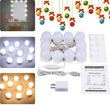 10X FOR Makeup Hollywood Mirror Vanity LED Mirror Light Kit Dimmable Light Bulb
