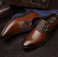fashion Mens patent leather Oxford formal Dress/Casual Shoes black brown plus sz