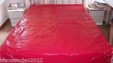 Shiny nylon Bedding set Pillow case Duvet cover Fitted Sheet Flat Sheet wet-look