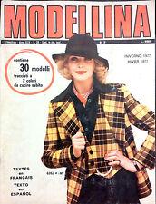 MODELLINA  N. 39  INVERNO-HIVER 1977