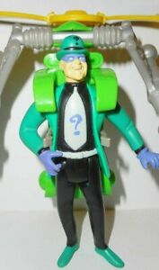 BATMAN the Animated series The RIDDLER helicopter vehicle pack 1998 dc universe