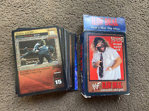 Mankind WWF/WWE Raw Deal Collectible Card Game 2000 RAWDEAL by Comic Images