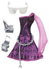 Monster High Spectra Vondergeist fashion pack de accesorios de coleccionista raramente y0400