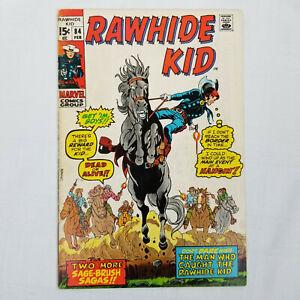 Rawhide Kid #84 (Marvel Comics, 1971) VG A2