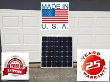 1- 160  Watt 12 Volt Battery Charger Solar Panel Off Grid RV Boat 160 watt total