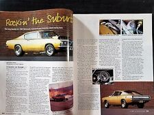 1967 Plymouth Barracuda  -  6-Page Original Restoration  Article - Free Shipping