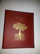 Mi árbol familiar-Historia de almacenamiento de carpeta Ref Borgoña a 2D 40 Mm De Metal Capacidad