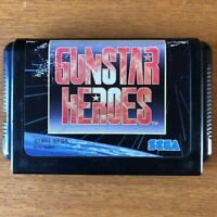 SEGA game Used Gunstar Heroes Only body Action game Mega Drive Japan Version F/S