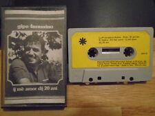 RARE OOP Gipo Farassino CASSETTE TAPE If Me Amor Dij 20 Ani ITALY chanson 1976 !