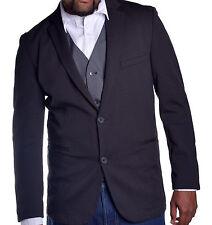 Alfani Mens $125 Deep Black Blazer Suit Coat Jacket Choose Size