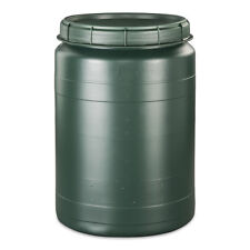 60 Liter grün Weithalstonne Weithalsfass Fass mit Drehdeckel Tonne Behälter NEU