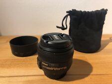 Nikon AF-S NIKKOR 50mm 1:1,4g (58mm) con B + W filtro (pacchetto accessori) | Top Condizione