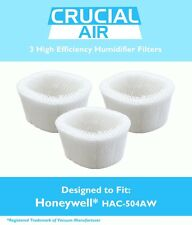 3 Honeywell HAC-504AW Humidifier Filter HCM-600 HCM-710 HCM-300T HCM-315