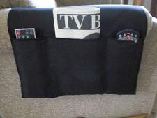 Chair Cozee TV Remote Control Holder Armrest Organizer Caddy-Black