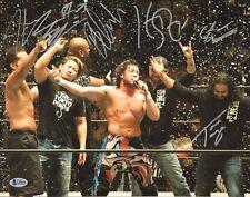 Yujiro Takahashi Tama Tonga Kenny Omega Bad Luck Fale Signed 11x14 Photo BAS COA