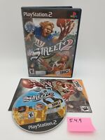 NFL Street 2 (Sony PlayStation 2, 2004) Complete with Manual, No Scratches!