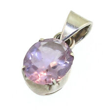 Le Vier Designs Amethyst Pendant Sterling February Birthstone 6th Anniversary
