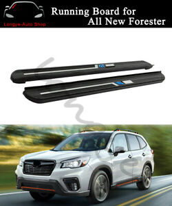 2PCS Running Boards Side Step Nerf Bars fits for Subaru Forester 2019 2020 2021