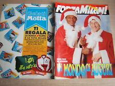 FORZA MILAN!=N°12 1993=POSTER DE NAPOL=COPPA INTERCONTINENTALE