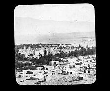 SYRIE c. 1900 - BAALBEK - Verre Positif Glass Slide - 12