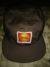 Vitg Shell Oil Gas Station Service Attendant Uniform Hat Cap NICE 6 7/8 Lion AD
