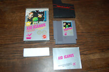 CANADIAN VERSION Kid Icarus Nintendo NES Game COMPLETE HANGTAB Mattel