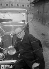 Negativ-Darmstadt-Hessen-Gebäude-BMW-PKW-KFZ-Fahrzeug-1930er Jahre-1