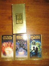 VHS Star Wars Box Set 3 movie Star Wars Empire strikes back Return of the Jedi