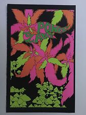 Power Plant Blacklight Poster Pin-up Print Space Demon Double Sided Psychedelic