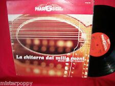 BRUNO BATTISTI D'AMARIO La Chitarra Mille Suoni PHASE 6 Library LP 1969 ITALY