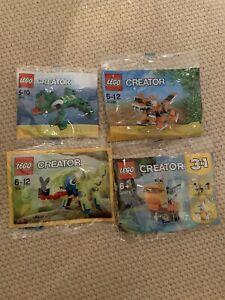 Lego creator Animal Bundle New (4 Items)