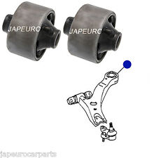 FOR LEXUS RX350 06- FRONT LOWER BOTTOM WISHBONE TRACK CONTROL ARM REAR BUSHES x2