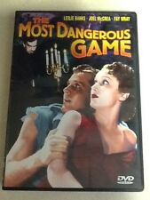 The Most Dangerous Game  DVD