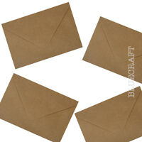 C7 Brown Ribbed Kraft Envelopes 100gsm - All Quantities