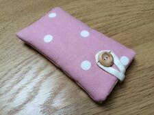 Clarke and Clarke Dotty Rose Fabric - iPhone 6 / 6 Plus Padded Case Cover
