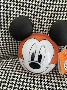 Halloween Light Up Disney Mickey Mouse Pumpkin - Brand New Decoration Prop