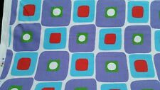 "ZE fabric bright multicolor geometric modern fabric 59"" width BTY 30yds NEW!"