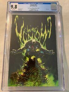 Venom #30 CGC 9.8 Comic Kingdom of Canada Edition Kael Ngu Sketch Virgin Variant