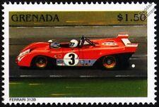 FERRARI 312B Racing Car Stamp