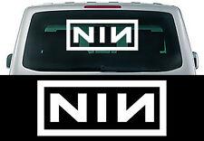 "Heckscheibenaufkleber Karosserieaufkleber ""NIN"" NINE INCH NAILS 90cm x 40cm"