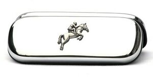 Horse Eventing Glasses Spectacles Case Show Jumping Hunting FREE ENGRAVING 183