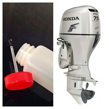 HONDA OUTBOARD BOAT MOTOR TOUCH UP  PAINT KIT - OYSTER SILVER 4 STROKE