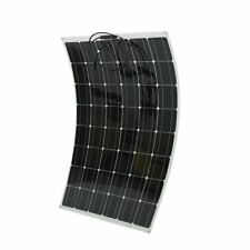 200W Flexible Outdoor Solar Panel Board Solar Power Charging System Module Us
