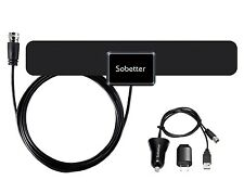 Sobetter TV Indoor 50 Mile Range Amplifier Digital HDTV Reception Antenna S020