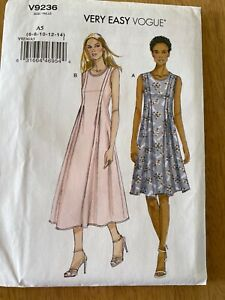 Very Easy Vogue Sewing Pattern V9236 Sizes 6 to 14