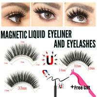 Eyeliner Liquide Magnétique Avec Cils Outil De Maquillage Brucelles 2019
