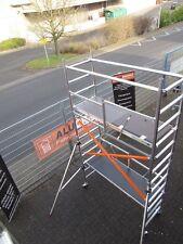 AluOrange Klapp Fahrgerüst Rollrüstung Gerüst Zimmergerüst Ah.4,70 m-erweiterb