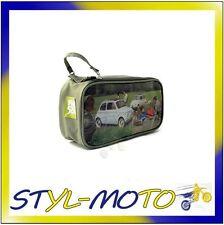 FIBO73 FIAT 500 BEAUTY CASE PVC FIAT 500 PRATO UFFICIALE ORIGINALE