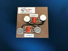 Upgrade Wiring Kit For Gibson Epiphone Les Paul Short Shaft Pots Orange Drop